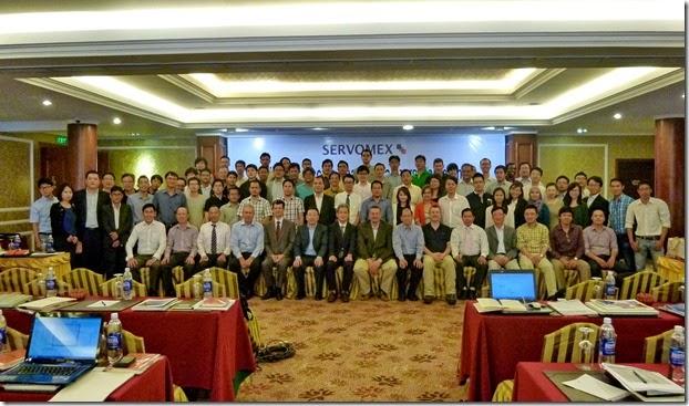 Hội nghị Servomex tại Hồ Chí Minh
